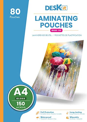 Deskit A4 Laminating Pouches