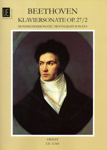 Sonate 14 Cis-Moll Op 27/2 (Mondscheinsonate). Klavier