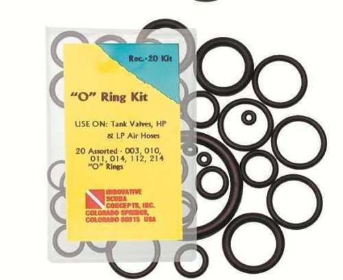 Notfall O-Ring Set Kit Save-a-dive kit klein 20 O-Ringe Reparatursatz