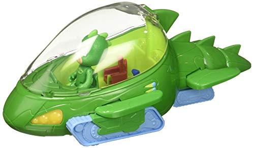 PJ Masks–Veicolo Deluxe Gecomobile e Geco Verde