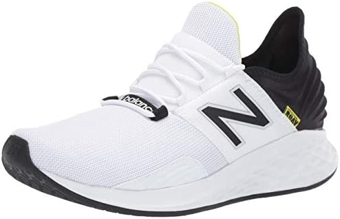 New Balance Men s Fresh Foam Roav V1 Sneaker White Black 9 5 M US product image