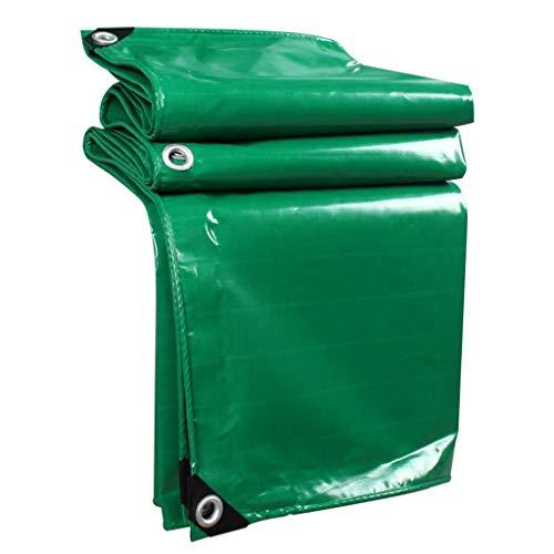 MZ Wasserdichte PVC-Plane, Sonnenschutz-Dreirad-Segeltuch für Kleintransporter (Farbe : Green, größe : 2mx3m)