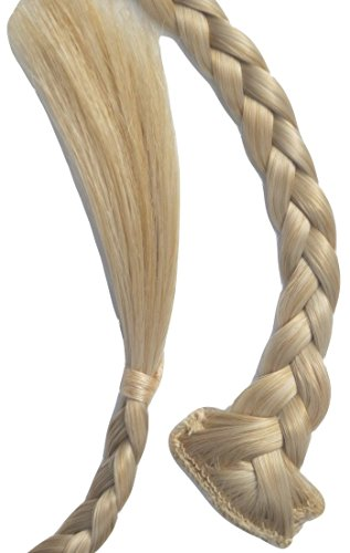Haarclip, extra lange, smalle vlecht, (56 cm), veelzijdig inzetbaar. 56 cm (22 Zoll) 15 Cool Nordic Blond Mix