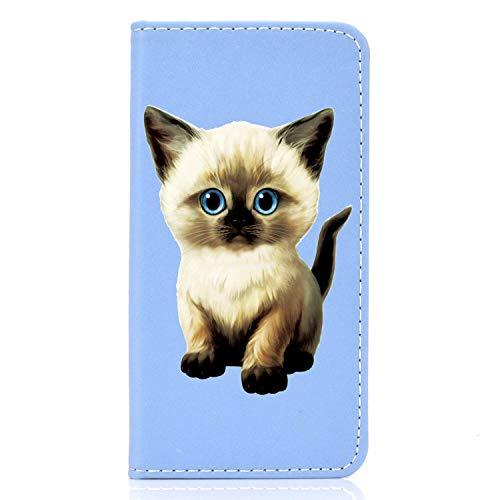Unichthy Schutzhülle für Samsung Galaxy S9 Plus, PU-Leder, stoßfest, mit Standfunktion, magnetisch, Geld, Silikon, Bumper