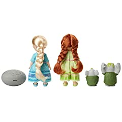 Disney Frozen Petite Anna & Elsa Dolls with Surprise Trolls Gift Set, Each Doll Is Approximately 6 inches Tall - Includes 2 Troll Friends! Perfect for any Frozen Fan! #5