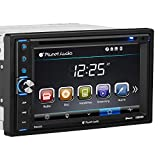 Planet Audio P9630B Car DVD Player - Double Din, Bluetooth Audio and Hands-Free Calling, 6.2 Inch LCD Touchscreen Monitor, MP3 Player, CD, DVD, WMA, USB, SD, AUX In, AM/FM Radio Receiver