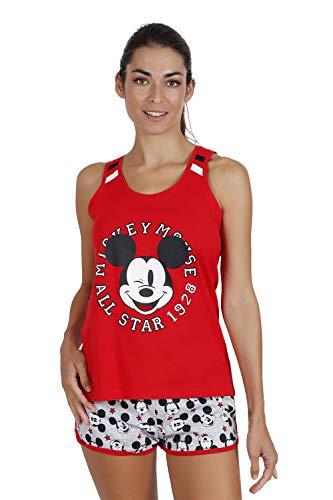 Disney Pijama Tirantes Mickey All Stars para Mujer