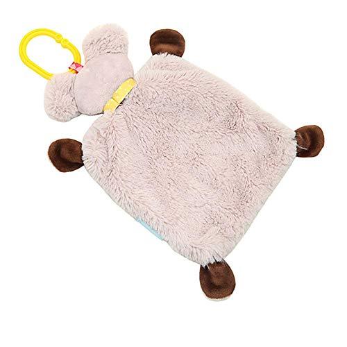 Juguete de Bebé Confortante Koala Juguete de Felpa Juguete Multifuncional Sueño Animal Muñecas de Dibujos Animados Juguetes de Peluche Niños Boca Calmante Toalla