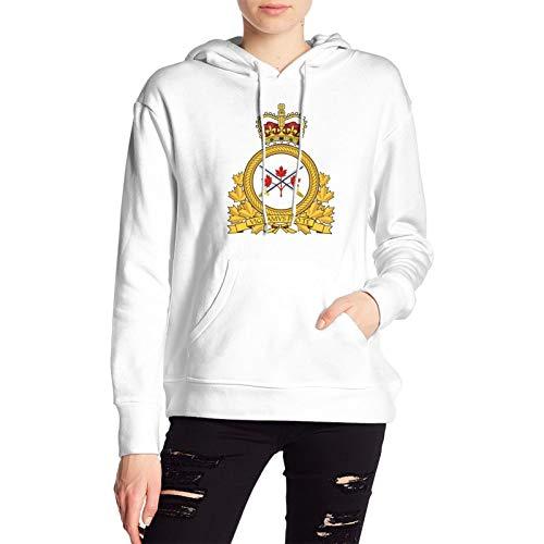RUIANSHISHENGYOUDA Us Army Field Artillery Veteran W Branch 1 Womens Pullover Coat Loose Shirt Knittinggirls Hoodies White