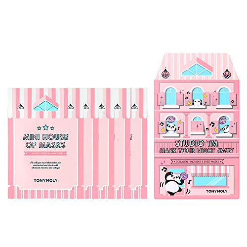 TONYMOLY Mini House Of Masks, Studio TM Collagen
