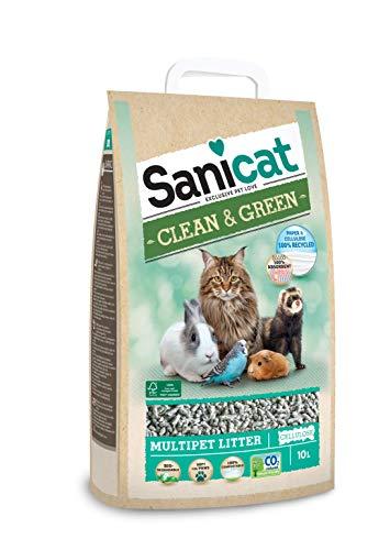 SANICAT Lecho higiénico Clean & Green...