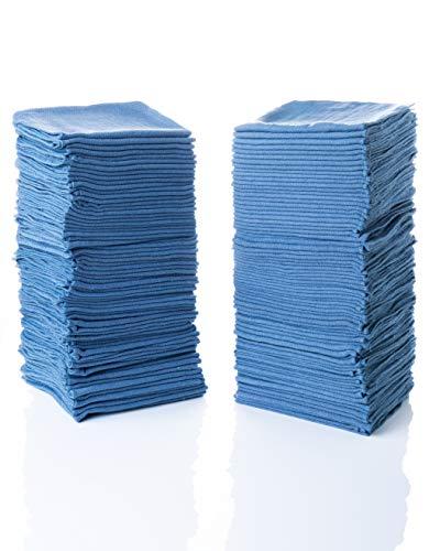 Simpli-Magic 79185 Shop Towels 14x12, Blue, 100 Pack
