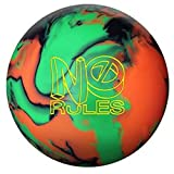 Roto Grip No Rules Bowling Ball, 15 lb, Green/Orange/Black