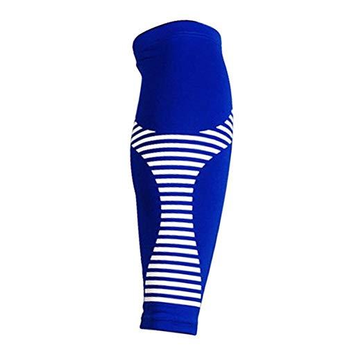 Kniebandage Tennis Radfahren Laufen Basketball Fußball Beinstulpen Wadenkompression Ärmel Wadenschutz Schutzausrüstung Beinstulpen Kniebandage knee active plus (Color : C, Size : L)