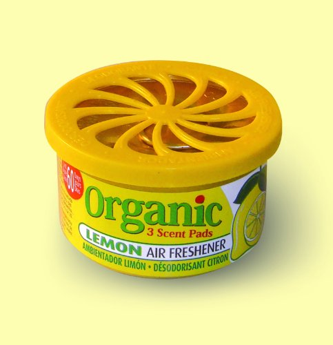 Organic Can Autoduft die Duftdose fürs Auto - Zitrone Lemon