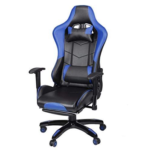 Gaming Office Chair Desk Computer Desk 360 Gradi Sedia regolabile Sedile e braccioli Sedile e braccioli Altezza Schienale Reclinabile Gamba retrattile