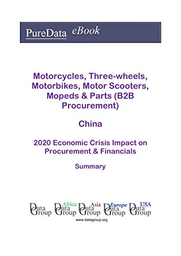 Motorcycles, Three-wheels, Motorbikes, Motor Scooters, Mopeds & Parts (B2B Procurement) China Summary: 2020 Economic Crisis Impact on Revenues & Financials (English Edition)