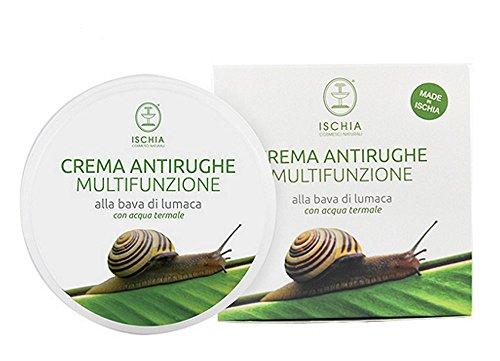 Ischia Cosmetici Naturali Crema Antirughe Multifunzione alla Bava di Lumaca - 100 ml