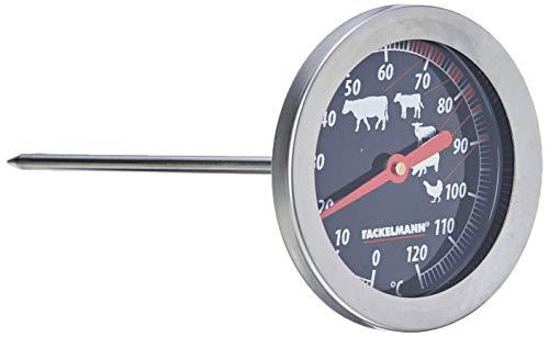 FACKELMANN 63803 Bratenthermometer, 14cm, Edelstahl
