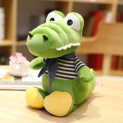 KXCAQ 30-70 cm Lindo cocodrilo cocodrilo de Peluche de Juguete niños Dibujos Animados de Dibujos Animados muñecos de Animales de Peluche para niños Regalos de cumpleaños para bebés 70 cm Verde
