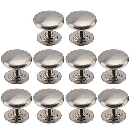 Ounona Lot de 10boutons de tiroir placard rond Style pour armoire placard tiroir de porte