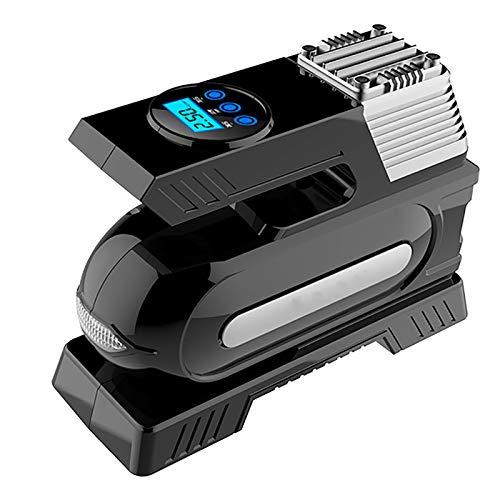 Mini Bomba Compresor Inflador De Aire Batería Digital Inteligente - Bomba Eléctrica Inflador Infladora De Neumático Aire Patinete, Compresor Bomba De Inflado Aire Bicicleta Portatil Profesional