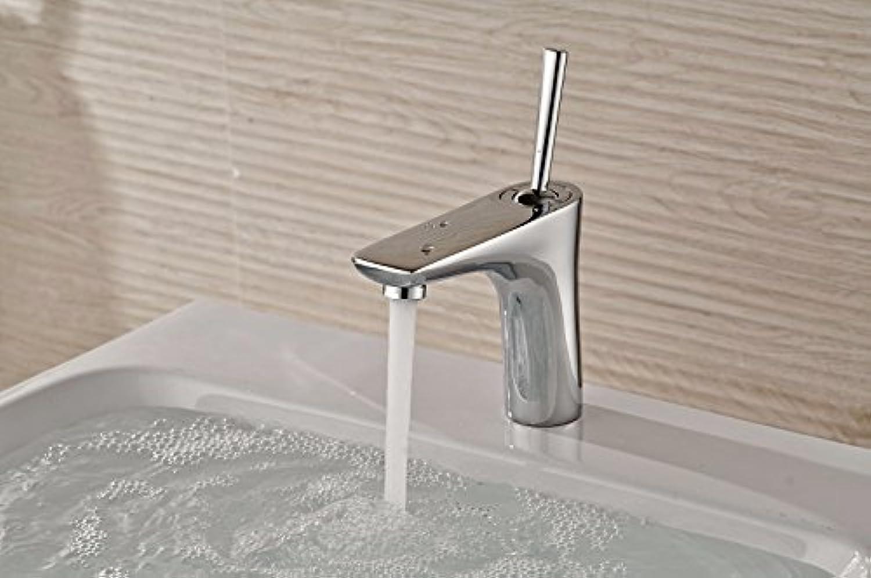 LaLF Kupfer waschbecken einlochmontage einhand hei und kalt wasserhahn edelstahl waschbecken wasserhahn