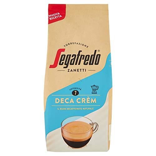 Segafredo Zanetti Caffè Macinato, Linea Le Classiche Deca Crèm, il Buon Decaffeinato, 1 Confezione da 180G