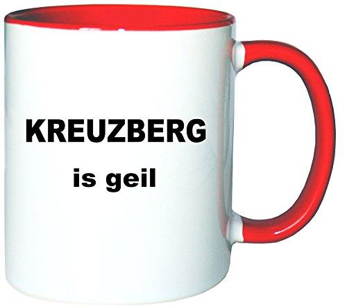 Mister Merchandise Kaffeetasse Becher Kreuzberg is geil Teetasse