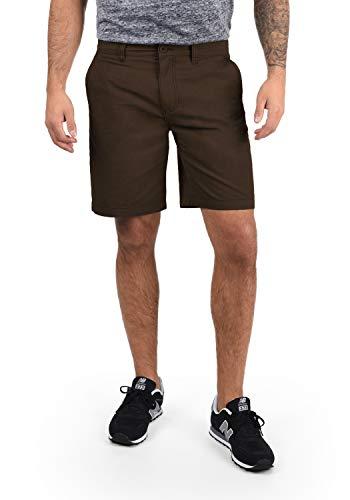 !Solid Thement Herren Chino Shorts Bermuda Kurze Hose Aus 100{815d218651308950e76ae923513bb2984c85e82167c87c519edfcd473f09c8a3} Baumwolle Regular Fit, Größe:XL, Farbe:Coffee Bean (5973)