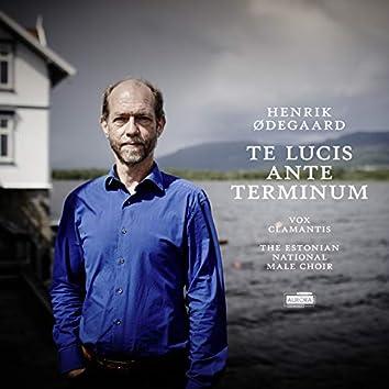 Henrik Ødegaard: Te Lucis Ante Terminum