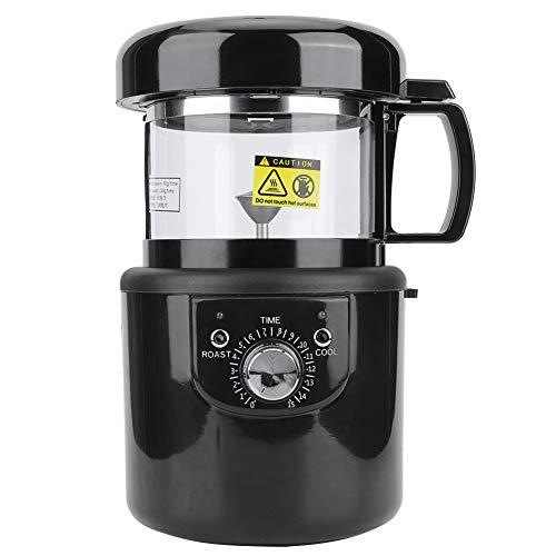Nivvity Tostador de café, pequeño Tostador de café eléctrico de Aire Caliente Completamente automático máquina de enfriamiento para Hornear máquina 2 en 1 EU 220-240V