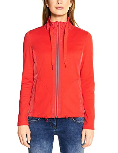 Cecil Damen 253034 Jacke, Tangerine orange, Medium