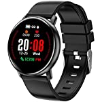 Fashion Shopping Smart Watch for Android Phones and iPhone Compatible, Fitness Tracker for Men and