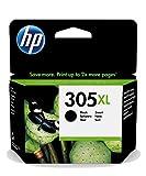 HP 3YM62AE 305XL High Yield Original Ink Cartridge, Black, Single Pack
