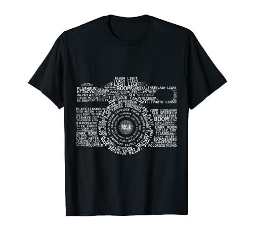 Kamera Beschreibung Fotograf Fotografie T-Shirt
