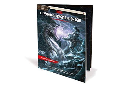 Asmodee-il Tesoro della Regina dei Draghi Campagna per Dungeons & Dragons 5a Edizione Gioco di Ruolo, Multicolore, 4012