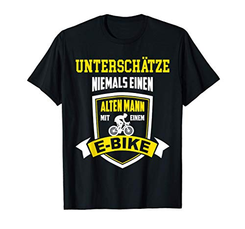 E Bike E-Bike Elektro Bike Ebike Fahrrad outfit T-Shirt
