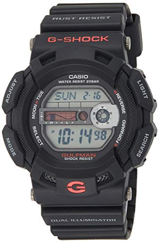 Casio G-Shock G9100-1 Men's Black Resin Sport Watch