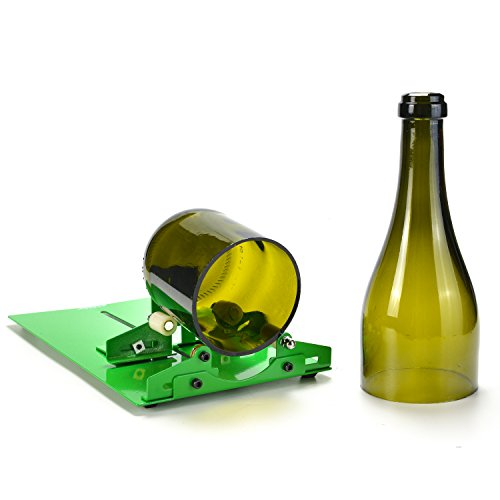 Glass Bottle Cutter, AGPtEK Bottle Cutter Cutting Machine, Wine Bottles Beer Bottles Cutter Glass Cutter Cutting Tool
