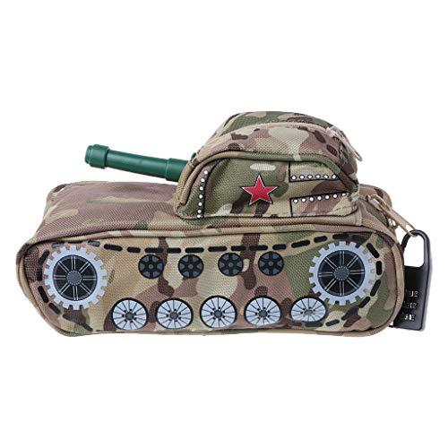 ZJL220 Creative Tank - Estuche para lápices con cierre de clip, para oficina, material escolar, artículos de papelería, regalo