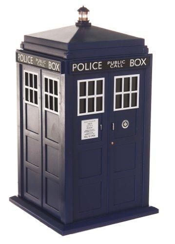 TruffleShuffle Doctor Who Tardis Keksdose mit Licht und Sound zur TV-Serie das Fangeschenk 27cm