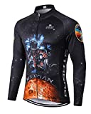 MR Strgao Men s Cycling Winter Thermal Jacket Windproof Long Sleeves Bike Jersey Bicycle Coat Size M