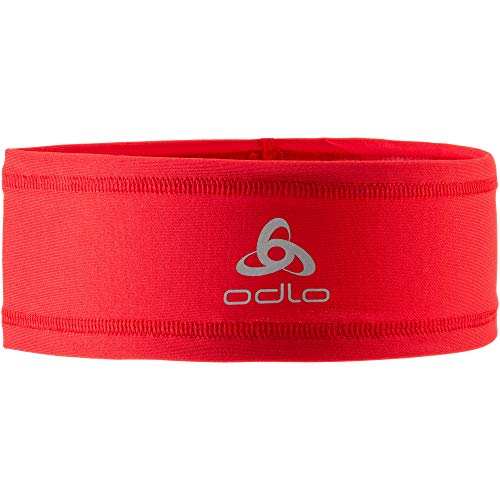 Odlo Polyknit Light Bandeau Mixte Adulte, Chinese Red, FR Unique (Taille Fabricant : -)