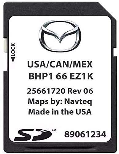 2019 Mazda Navigation Map SD Card BHP1 66 EZ1K 6 CX-3 CX-5 CX-9 MX5