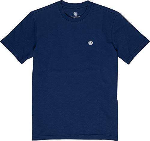 Element Herren Tees Crail, Blue Depths, XL, L1SSE5
