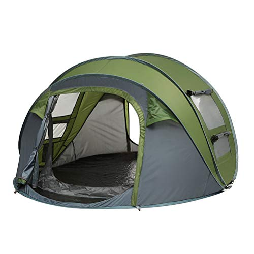 2-person tent, Portable Tents with Vestibule Double Layer Easy Setup Family Camping Tent