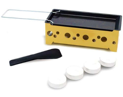 Nouvel 1er Raclette Heat Cheese silber/gelb one size