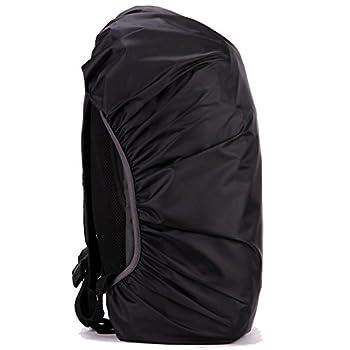 Butterme Portable sac à dos de pluie Housse Etui étanche paquet couvre Nylon Rucksack Sac Imperméable poussière housse de pluie pour randonnée en plein air Camping Cyclisme Voyager Escalade Équitation Sport