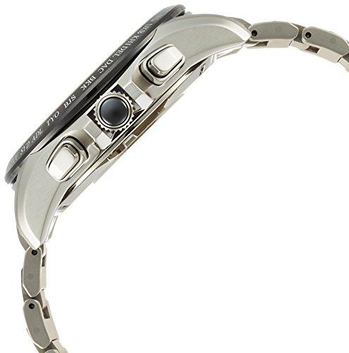 [セイコーウォッチ]腕時計アストロンソーラーGPS衛星電波デュアルタイム表記チタンモデルサファイアガラスSBXB047メンズシルバー